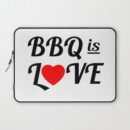 Bbq is Love Laptop Sleeve