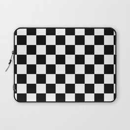 Checkered (Black & White Pattern) Laptop Sleeve