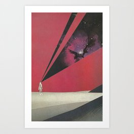 Projections Art Print
