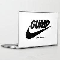 forrest gump Laptop & iPad Skins featuring Gump Just Do It by IIIIHiveIIII