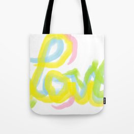 One Love III Tote Bag