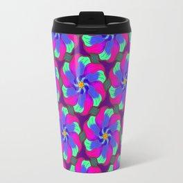 Watercolor Flowers Travel Mug