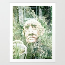 Heady Ol' Man. Art Print