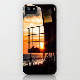 No Eclipse In Sight - Surf City September 27, 2015 iPhone Case