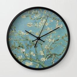 Almond Blossom Wall Clock