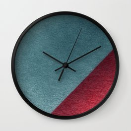 Spraypainted Circle 1 Wall Clock