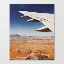 Flight Over Vegas Canvas Print