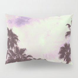 Palm Trees Over Vegas Pillow Sham