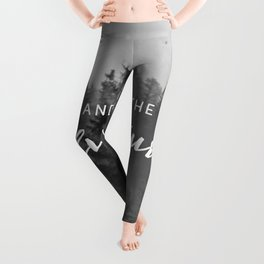 And So The Adventure Begins III Leggings