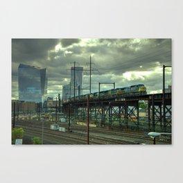 Philadelphia Skyline Freight Canvas Print