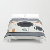 boob Duvet Covers featuring BB-8 by dudsbessa