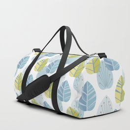 Mid-Century Modern Leaves Duffle Bag