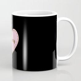 I Love Efficiency Simple Heart Design Coffee Mug