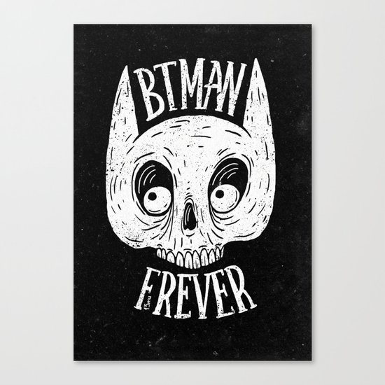 Bat skull Canvas Print
