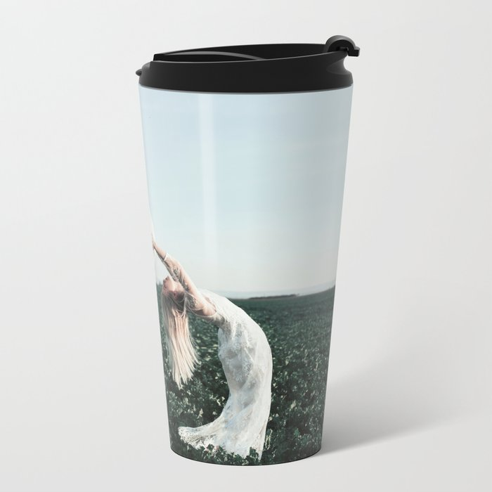 Fight with yourself Metal Travel Mug
