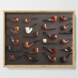 Collection of pipes Serving Tray