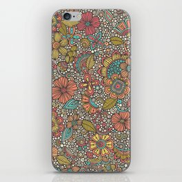 Doodles Garden iPhone Skin