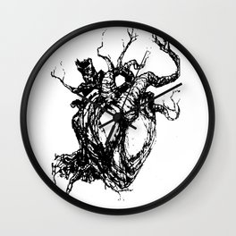 HeartTree Wall Clock