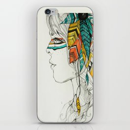 Native Woman iPhone Skin