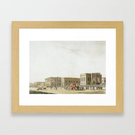 [Daniell, Thomas and William. ORIENTAL SCENERY. Calcutta Framed Art Print