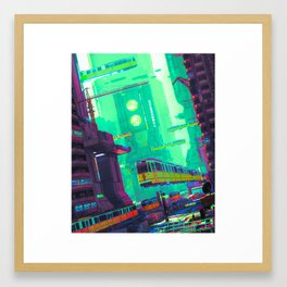 SYD CITY (everyday 03.16.19) Framed Art Print