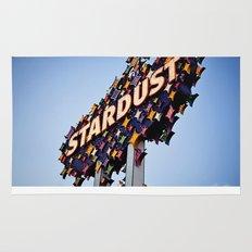 Vintage Stardust Sign, Las Vegas Rug