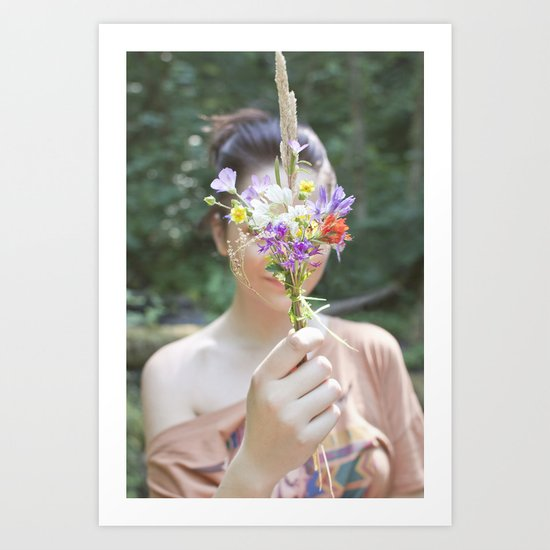 Wildflower/Wallflower Art Print