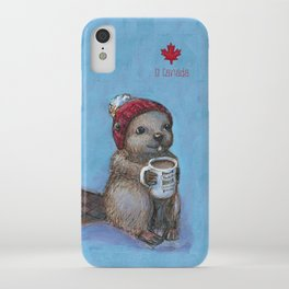 Canadian Beaver iPhone Case