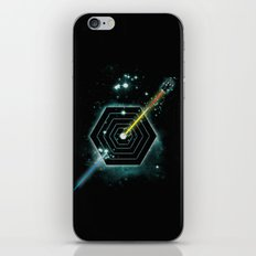 Space and Time Fragmentation Ship iPhone & iPod Skin