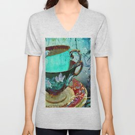 Madhatter's Teaparty No.30 Unisex V-Neck