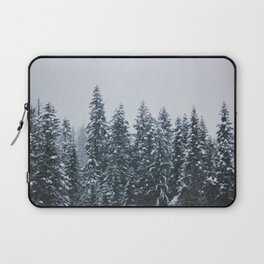 Winter Wonderland in the Wild of Montana Laptop Sleeve