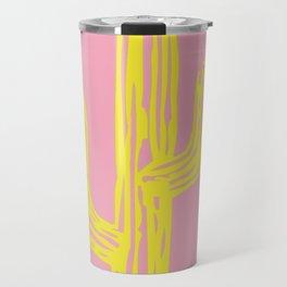Golden Cactus Travel Mug