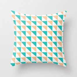 Simply Triangles Throw Pillow
