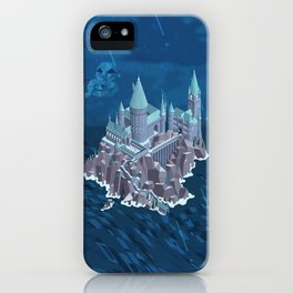 Hogwarts series (year 6: the Half-Blood Prince) iPhone Case