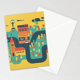 My capital Stationery Cards
