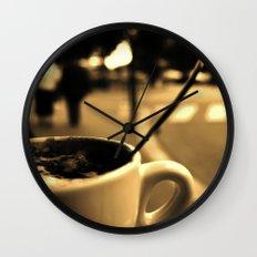 Mon Paris - Un café à Paris Wall Clock