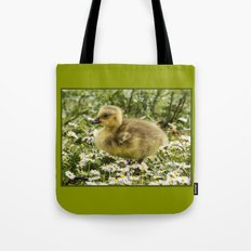 Fluffy Gosling Tote Bag