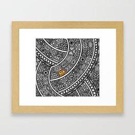 Oba Goldeneye Framed Art Print