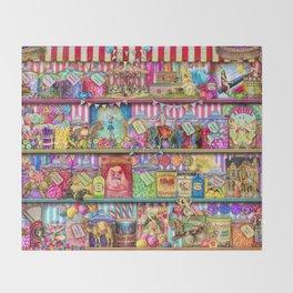 The Sweet Shoppe Throw Blanket