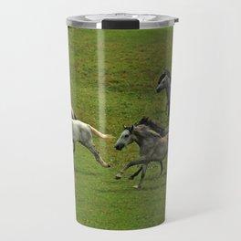 Lipizzan horses Travel Mug
