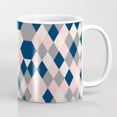 Honeycomb Blush and Grey Coffee Mug