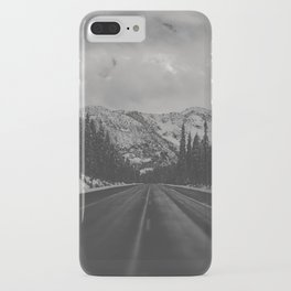 December Road Trip in the Pacific Northwest iPhone Case