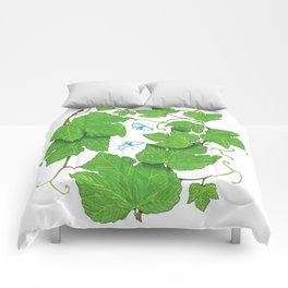 Grape Leaves Comforters