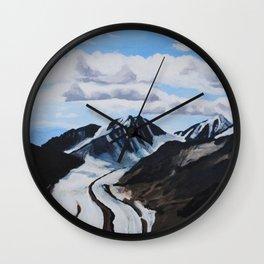 Glaciers Denali National Park Wall Clock