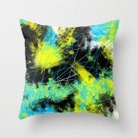 splash Throw Pillows featuring Splash by Timothy Davis