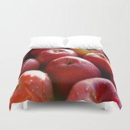 Sweet red Apple Duvet Cover