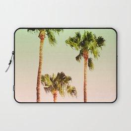 PASTEL PALM TREES Laptop Sleeve