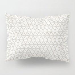 zigzag pattern tan Pillow Sham