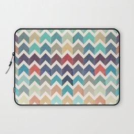 Watercolor Chevron Pattern Laptop Sleeve