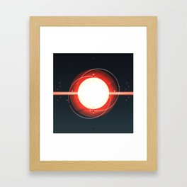 Star: Destruction Framed Art Print